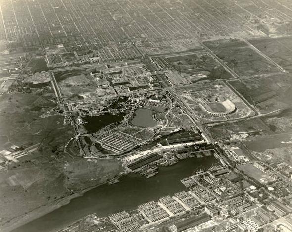 Sesquicentennial International Exposition - Aerial.JPG