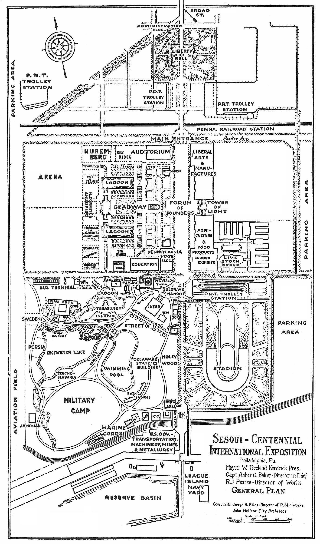 Sesquicentennial International Exposition - Layout.JPG