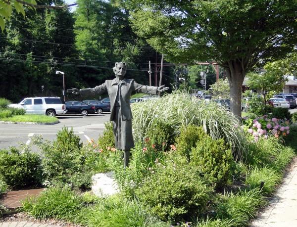 Millicent Fenwick Statue - One.JPG