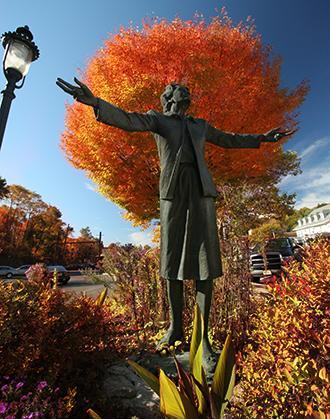 Millicent Fenwick Statue - Two.JPG