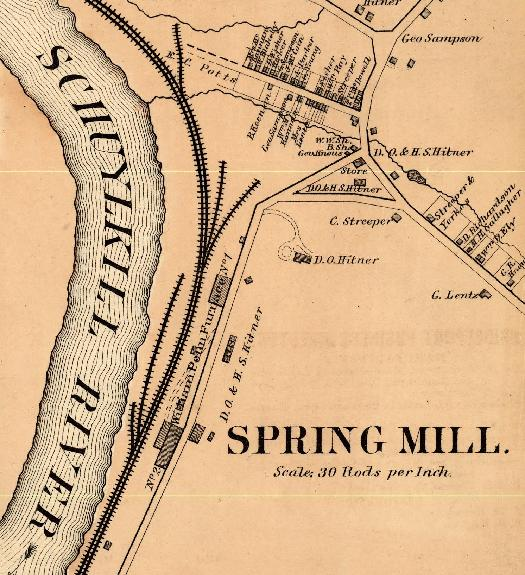 The Freedom Valley Chronicles:   Former Street Names - Part One