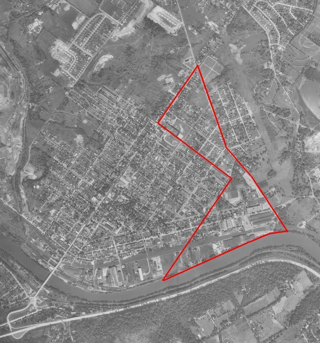 Conshohocken Map - Proposed Annexation - 1958 Map.JPG