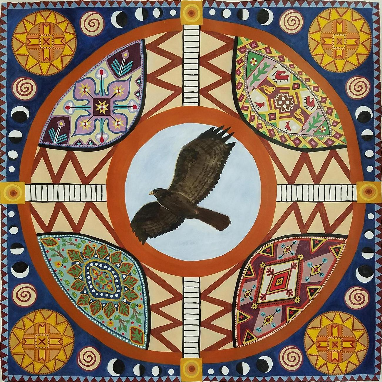Ann Wilson - Hawk Circle - Art of the State.JPG