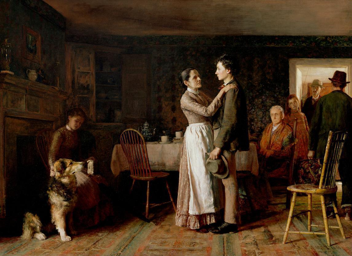 Thomas Hovenden - Breaking Home Ties.JPG