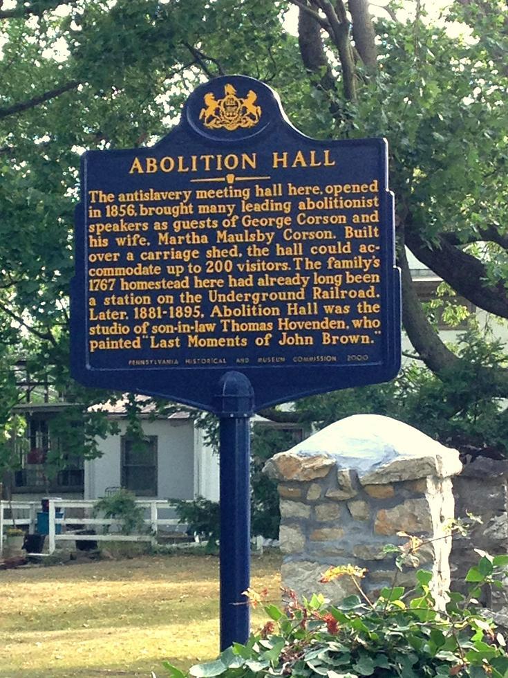 Abolition Hall Historic Marker.JPG