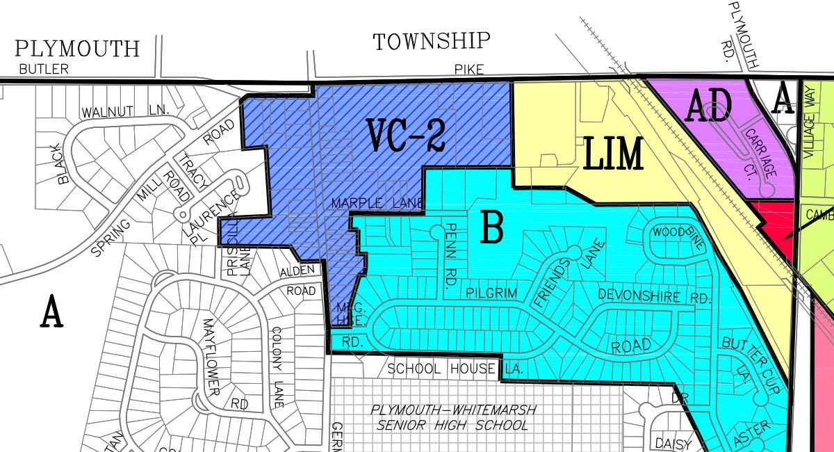 Whitemarsh Township Zoning Map - Plymouth Meeting.JPG