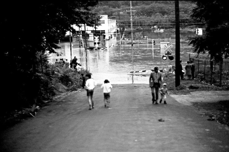 Hurricane Agnes - Street - 1.JPG