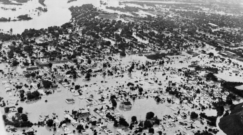 Hurricane Agnes - Forty Fort and Smoyersville.JPG