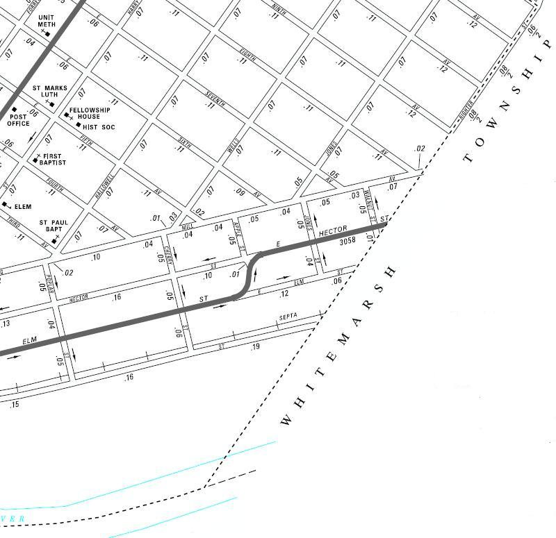 Conshohocken Borough Map - PennDOT - Righter Street Area.JPG