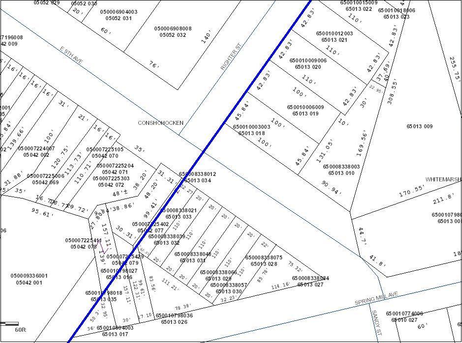 Montgomery County Straight Line Map - Conshohocken - Righter Street.JPG