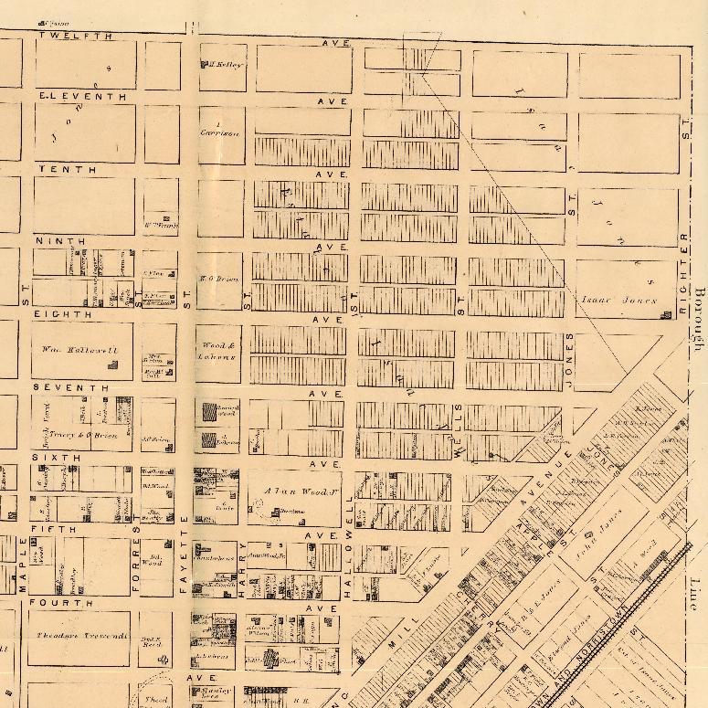 Conshohocken Map - 1871 - Righter Street.JPG