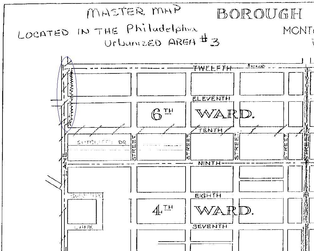Conshohocken Borough Map - PennDOT - 1960 Map - Notch Area.JPG