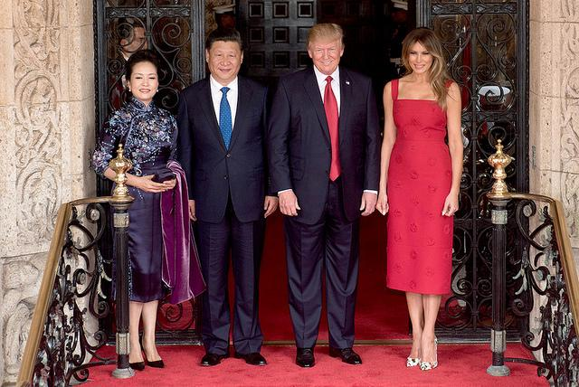 President Trump and Chinese Leader.JPG