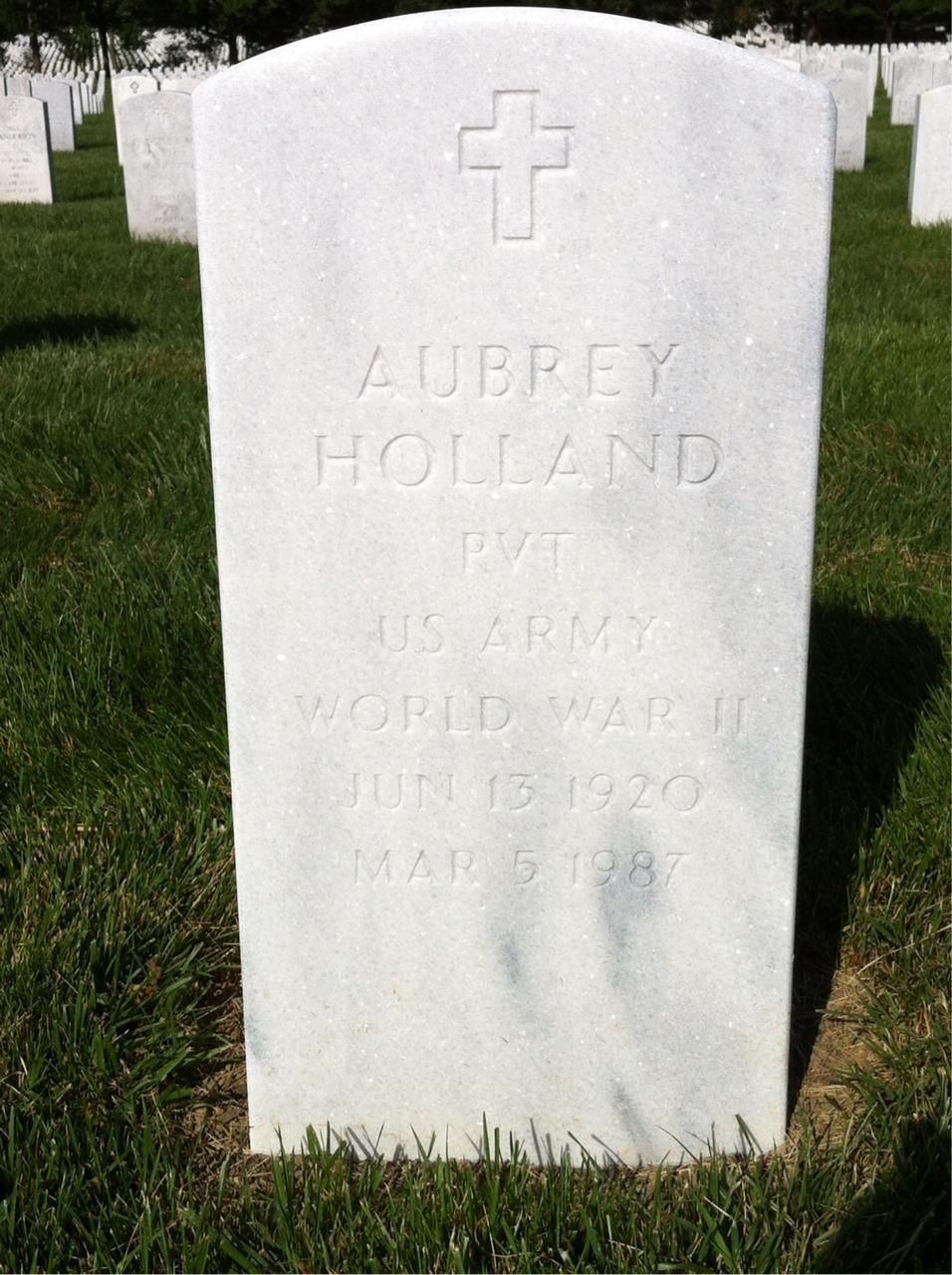 Aubrey Holland - Tombstone.JPG