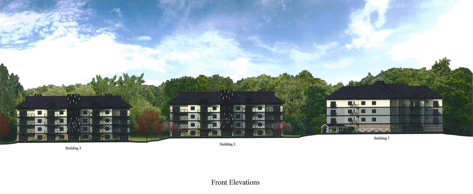 The Enclave At Kerlin Farm - Cheltenham - Front Elevations.jpg