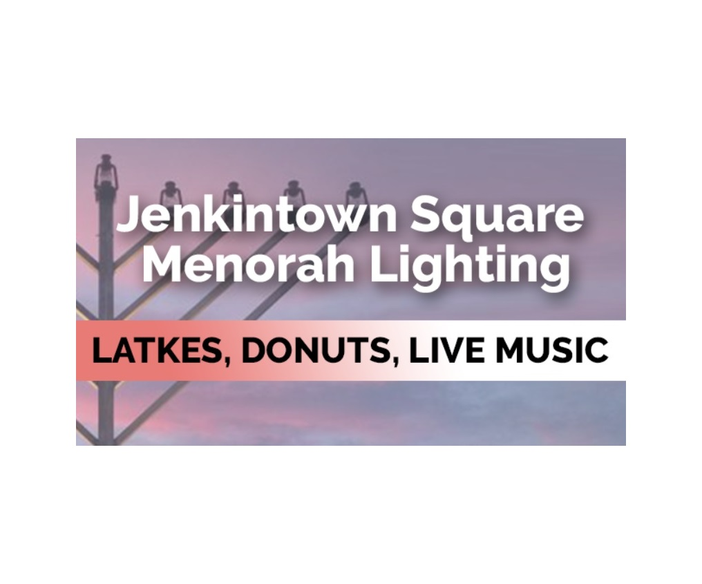 Glenside Local: Jenkintown Menorah Lighting