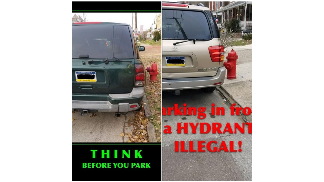 Glenside Local: Parking That Is Both Stupid  And Illegal