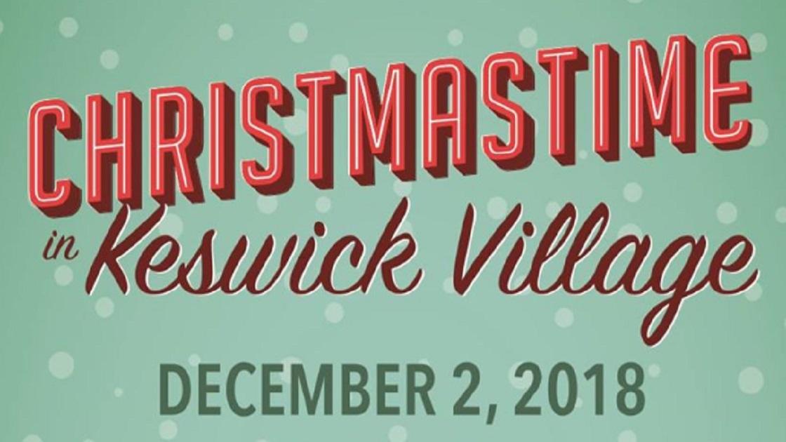 Glenside Local: Christmastime In  Keswick Village
