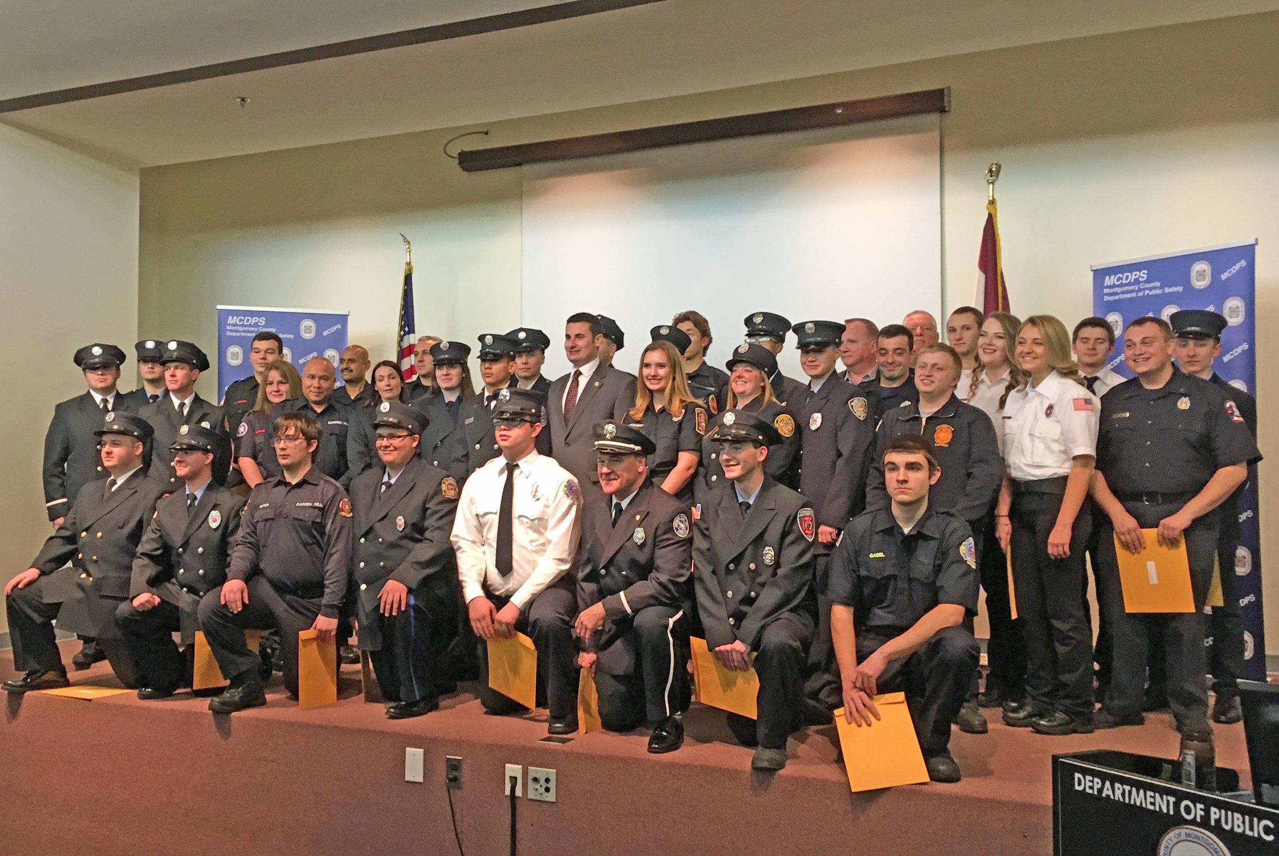 Montgomery County Fire Academy Graduation Class.jpg