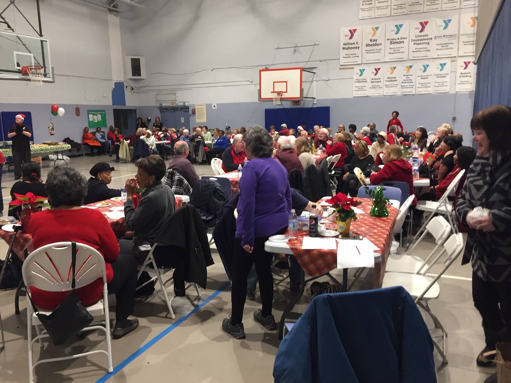 Abington YMCA - Christmas Lunch - Two.jpg