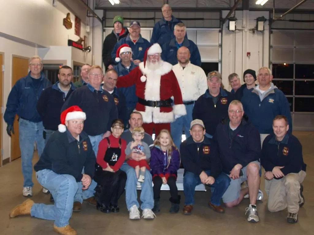 Oreland Fire Company - Santa.jpg