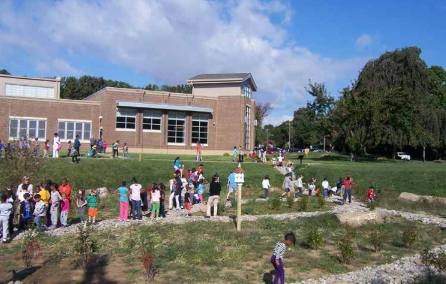 Cheltenham Elementary School - Outside - One.JPG