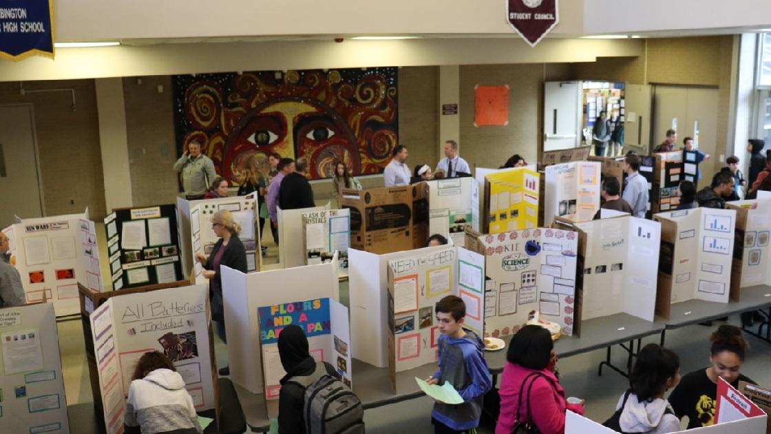 Glenside Local: Science Fair At Abington Junior High School