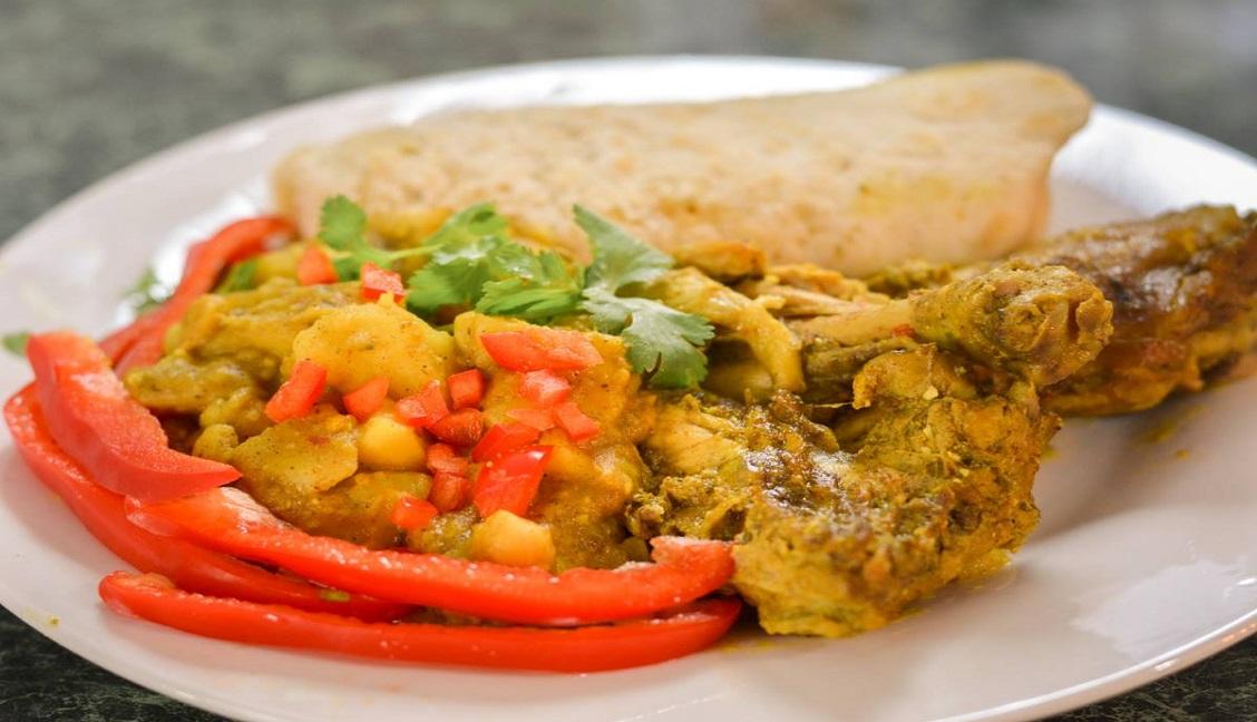 R & R Caribean Cuisine - Chicken Roti - Three.jpg