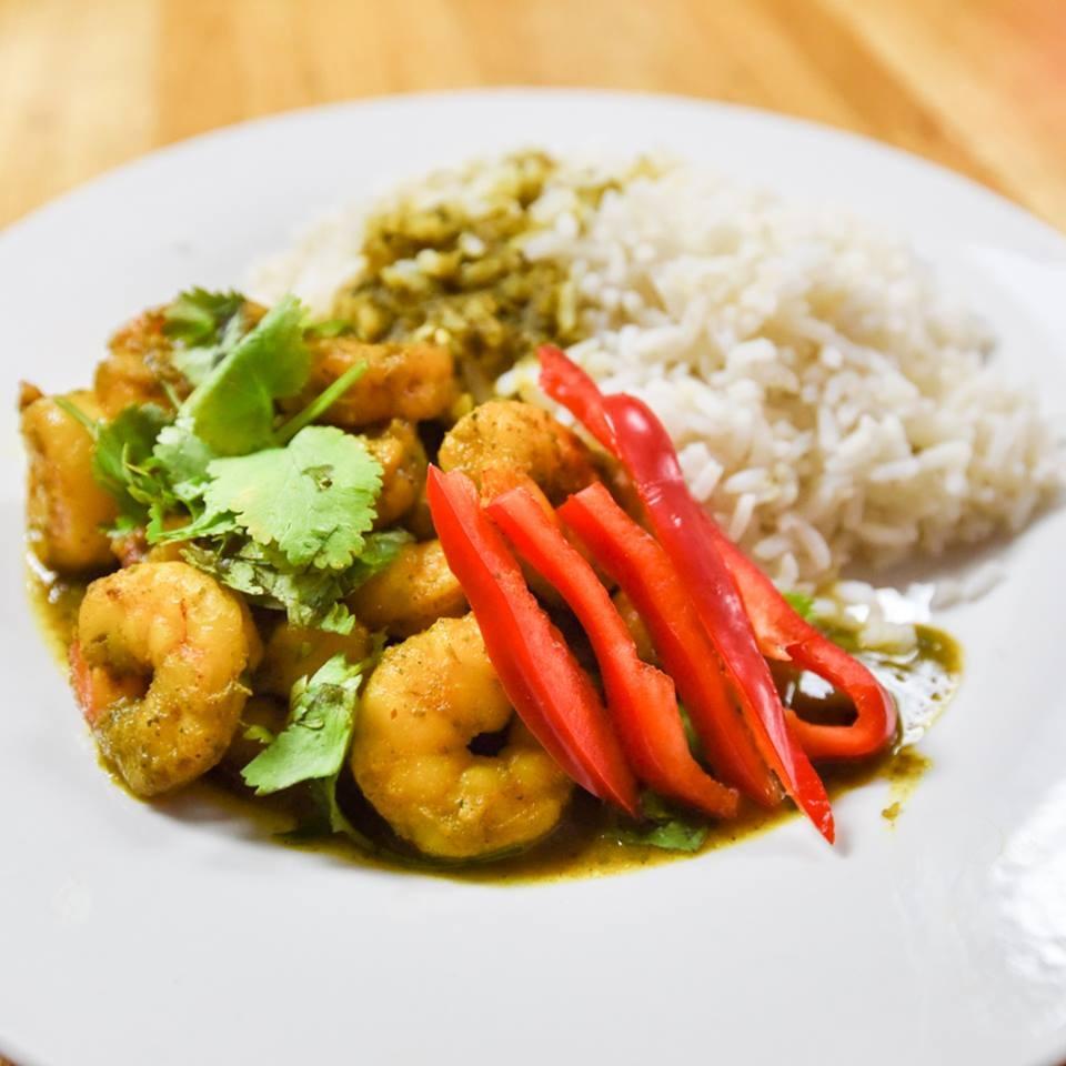 R & R Caribean Cuisine - Curry Shrimp - Two.jpg