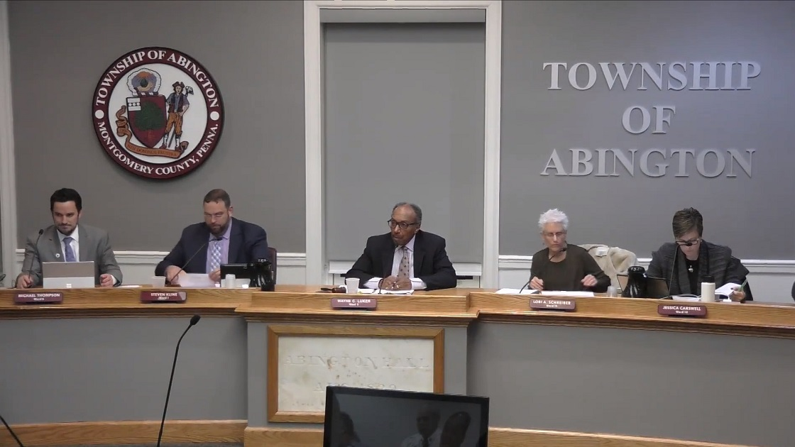 Glenside Local: Video Of Abington Township Board Of Commissioners Meeting - December 13th