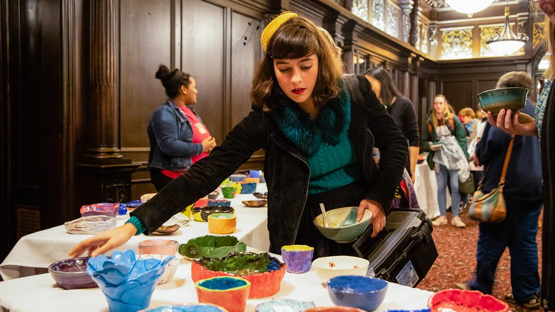 Glenside Local: Arcadia University Empty Bowl Celebrates 25 Years of Fighting Hunger And Homelessness