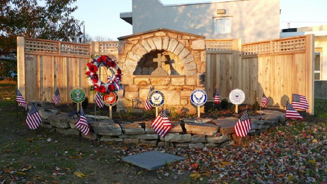 Glenside Local: Holy Martyrs Catholic Church Dedicates Monument  In Honor Of Veterans