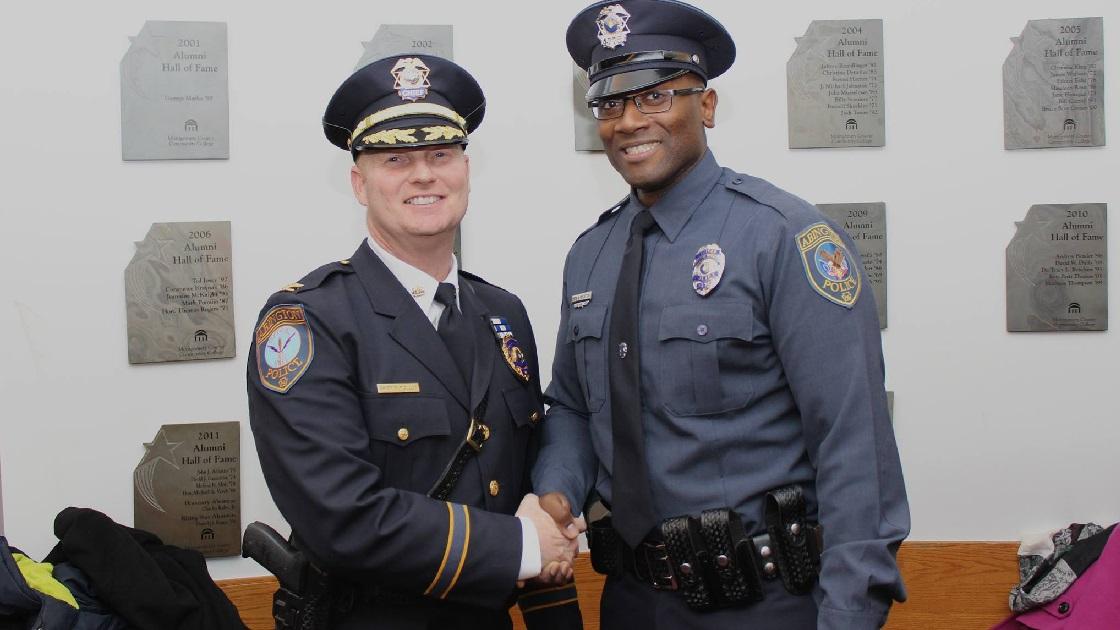 Glenside Local: Officer Aaron Houston Graduates Police Academy