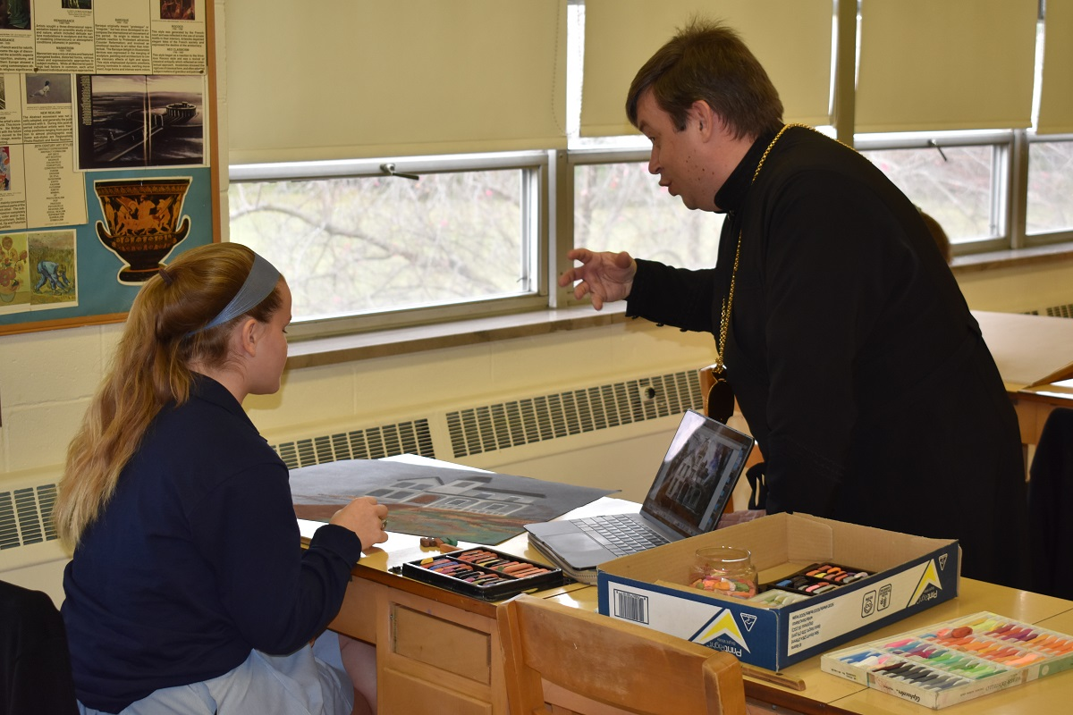 Saint Basil Academy - Visit by Leader - One.jpg