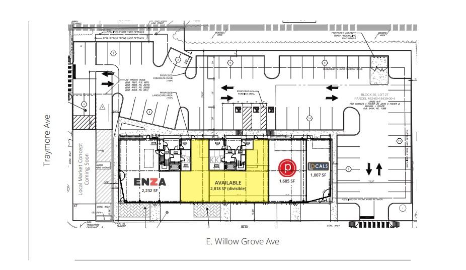 909 East Willow Grove Avenue - Site Plan.jpg
