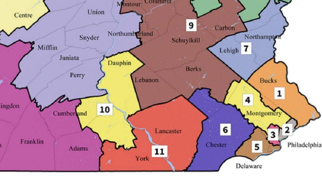 Elections Map - Congressional Districts - Eastern Pennsylvania - 1120.jpg