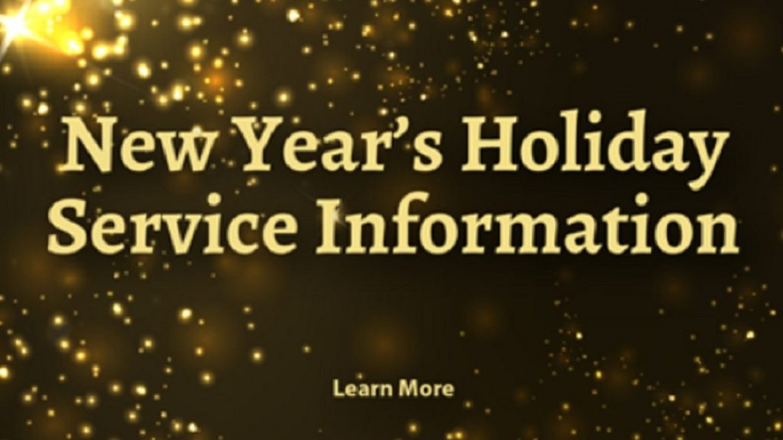 Glenside Local: SEPTA Schedules New Year's Eve And Day