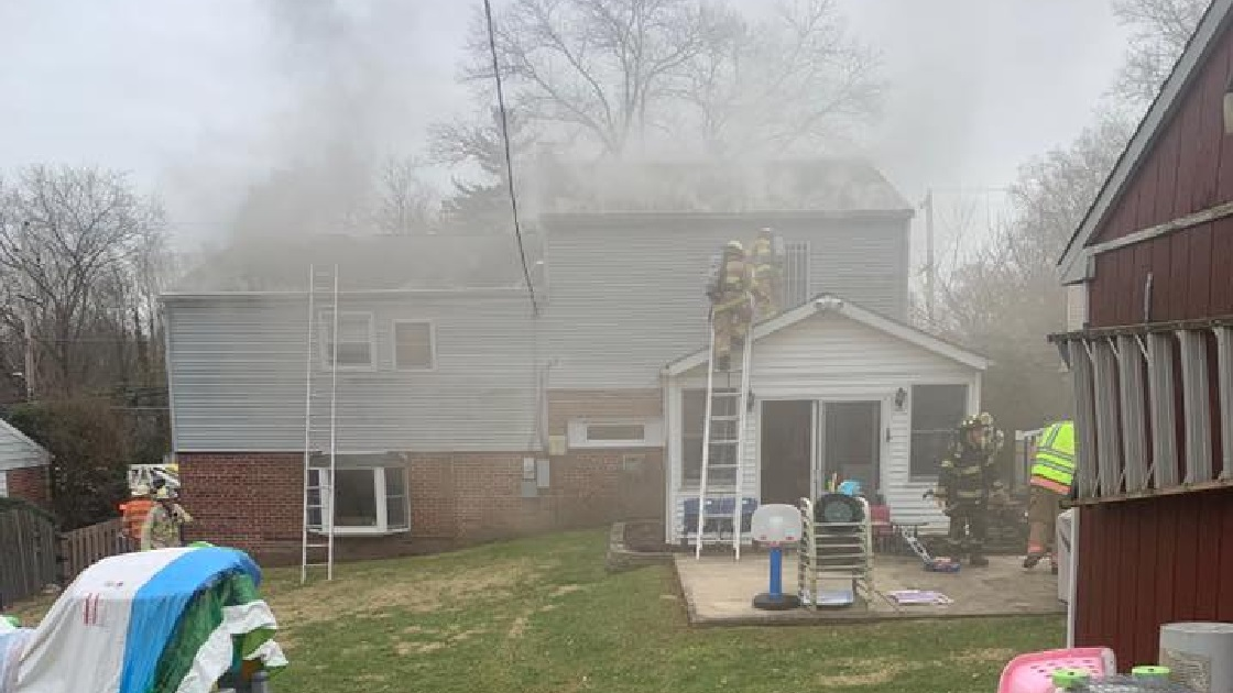 Glenside Local: Updated - Photos Of House  Fire On Highland Avenue