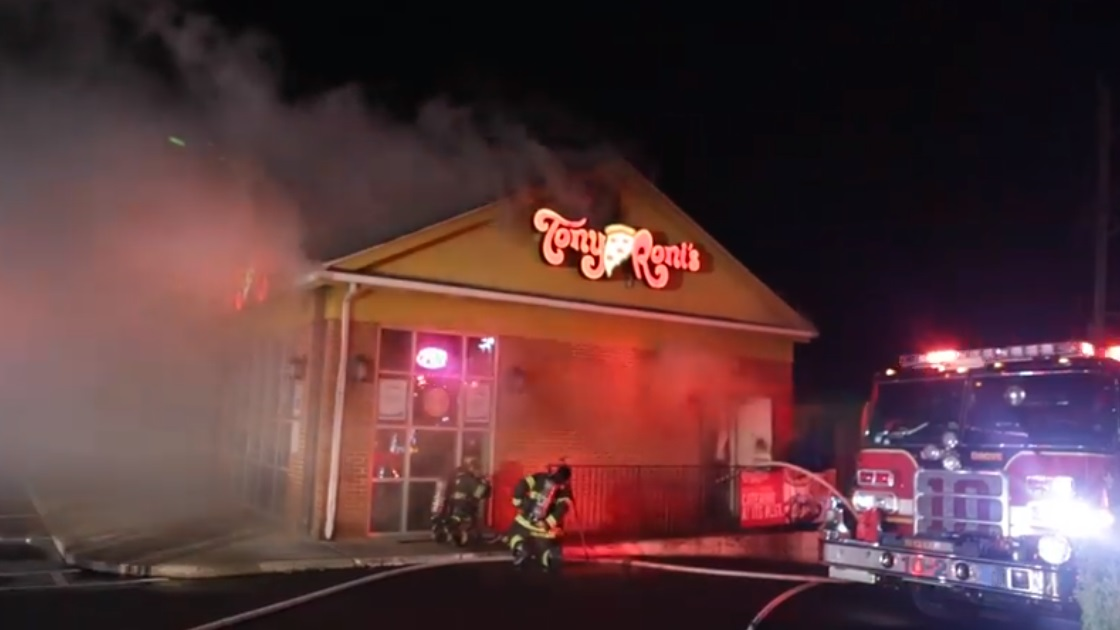 Glenside Local: Video Of Fire At Tony Roni's
