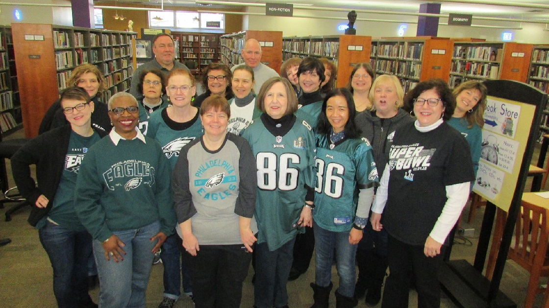 Glenside Local: Eagles Fly At The Library