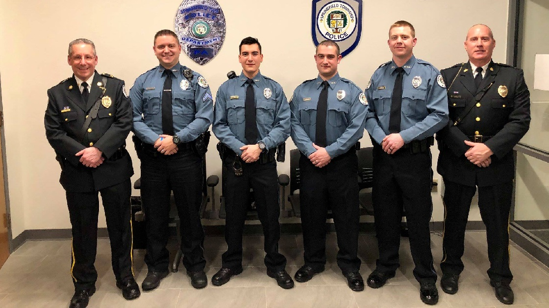 Glenside Local: Springfield Township  Police Promotions