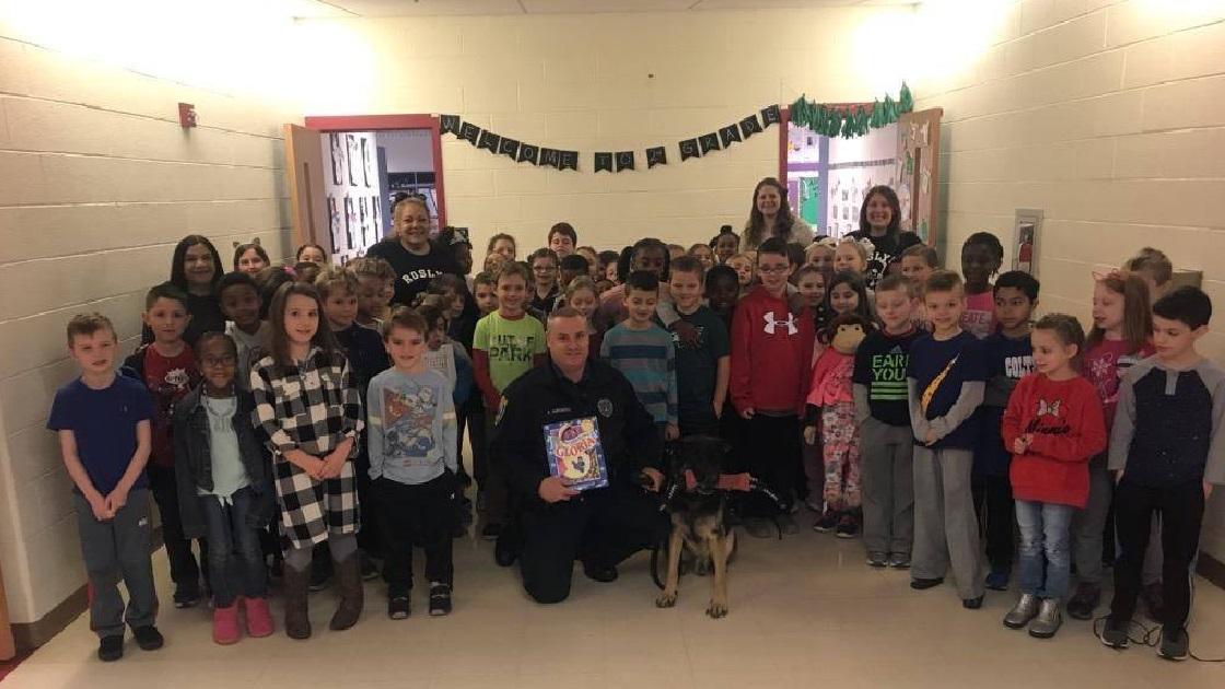 Glenside Local: Abington Township  K-9 Partners Visit Roslyn School