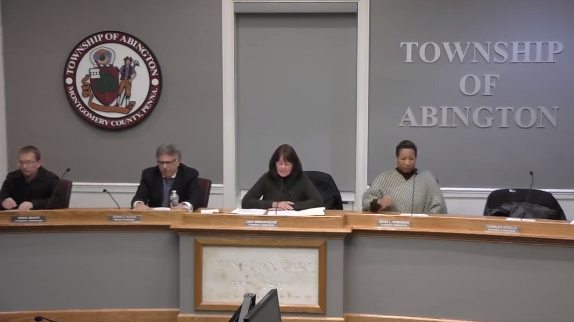 Glenside Local: Video Of Abington Township  Planning Commission Meeting January 22, 2019