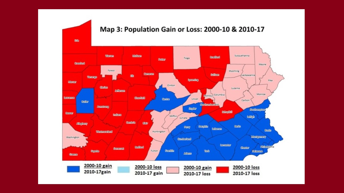 Glenside Local: Penn State Report: Pennsylvania Population Trends Mirror Employment Changes