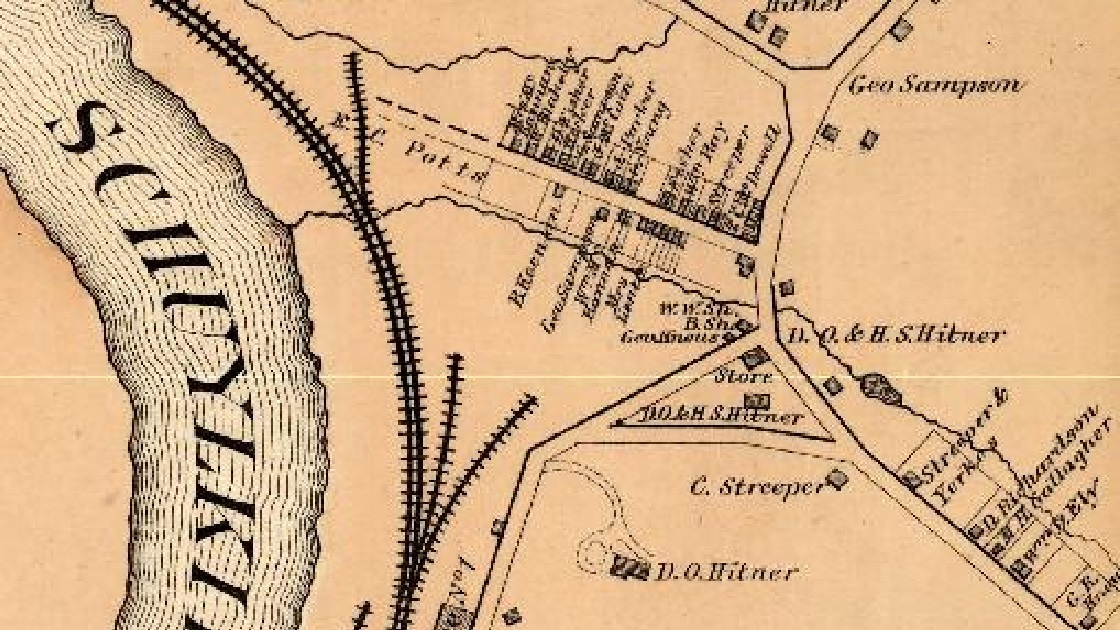 The Freedom Valley Chronicles: Former Street Names