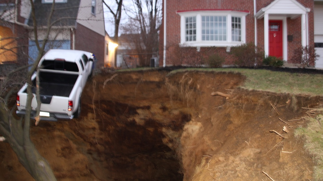 The Tookany Valley Chronicles: Anniversary Of Glenside Sinkhole