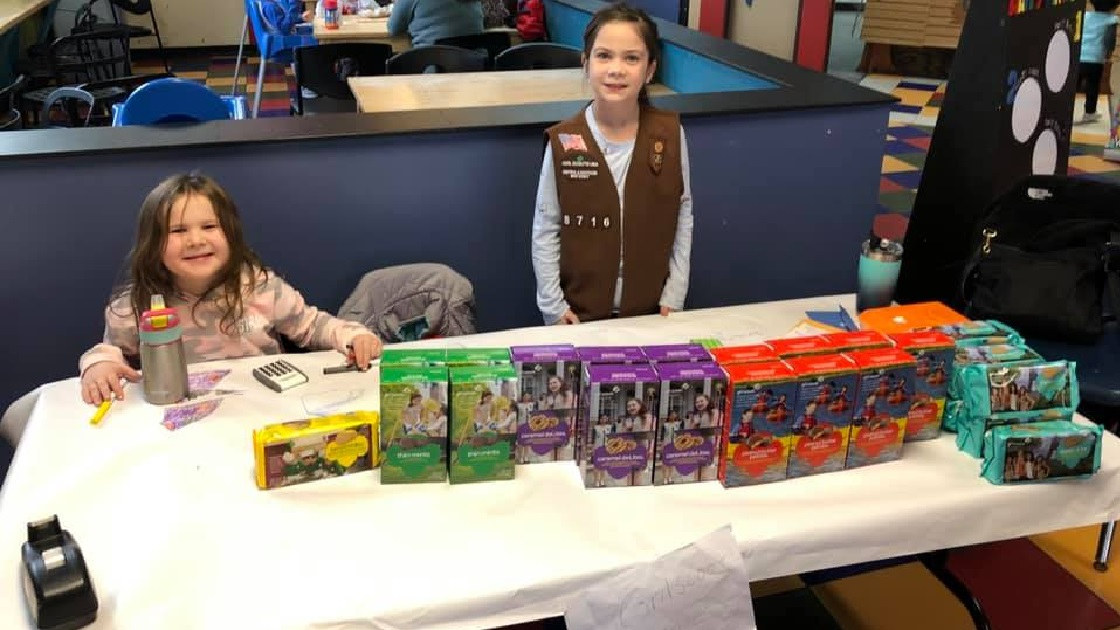 Cherry Hill Now: Girl Scouts Selling Cookies At Garden State Discovery Museum