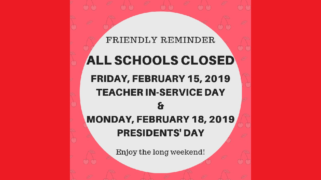 Cherry Hill Now: Cherry Hill Public Schools  Closed For Four-Day Holiday