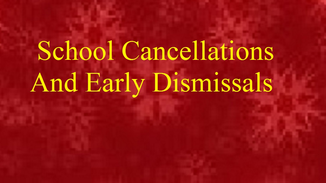 Cherry Hill Now: School Cancellations And Early Dismissals
