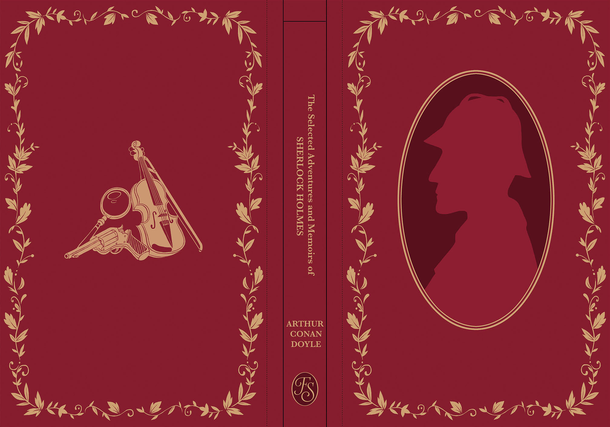 My front cover design for the Folio Society competition (2018)